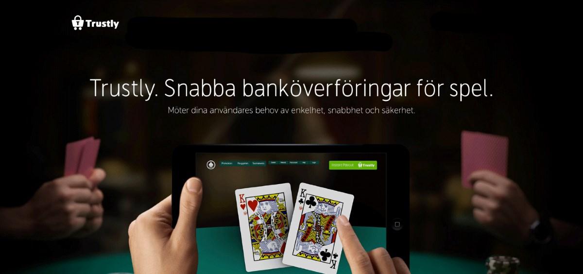 Sätt in och ta ut pengar på casino med Trustly